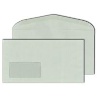 Kuvertierumschläge Blessof 208438, 125 x 235mm, mit Fenster, NK, 75g, RC, 1000St
