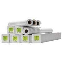 Plotterpapier HP C6030C, 130g, 91,4cm x 30,5lfm, gestrichen, weiß