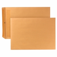 Versandtaschen B4, ohne Fenster, Selbstklebung, 110g, braun, 250 Stück