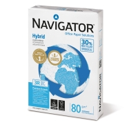 Kopierpapier Navigator Hybrid, A4, 80g, weiß, 500 Blatt
