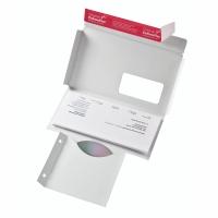 CD/DVD-Brief Colompac CP40.01 mit Fenster Innenmaße: 221x122mm weiß