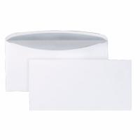 Kuvertierumschläge C6/5, ohne Fenster, Nassklebung, 80g, weiß, 1000 Stück