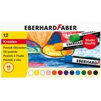 Ölkreide Eberhard Faber 522012, 12er-Box, sortiert