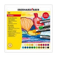 Ölkreide Eberhard Faber 522024, 24er-Box, sortiert