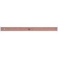 Lineal M+R 1930, aus Holz, Buche, Länge: 50cm
