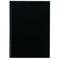 Buchkalender 2018 Timesystem 862411, 1 Woche / 2 Seiten, A4, schwarz