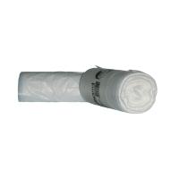 Mülleimerbeutel Deiss 36005, Maße: 610 x 850mm, Füllmenge: 65l, weiß, 50 Stück