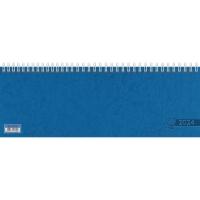 Querterminbuch 2018 Glocken 5072321, 1 Woche / 2 Seiten, A4 quer, blau