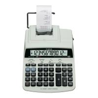 Tischrechner Canon MP121-MG, druckend, 12-stellig, Netz-/Batteriebetrieb,