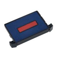 Ersatzkissen Trodat 6/4750/2 blau/rot, 2 Stück
