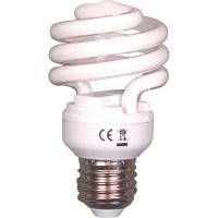 Energiesparlampe Aluminor für E27-Sockel, 12 Watt, Spirale