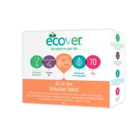 Spülmaschinentabs Ecover Ökologisch, 70 Tabs