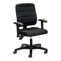 Bürostuhl Prosedia 30015957, mittelhohe Rückenlehne, schwarz