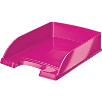 Briefkorb Leitz 5226 WOW, stapelbar, Maße: 255 x 360 x 70mm, pink