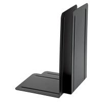 Buchstütze Alco 4303, Maße: 130 x 240 x 140mm, Metall, schwarz, 2 Stück