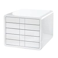 Schubladenbox HAN 1551 I-box, 5 Schubladen, weiß