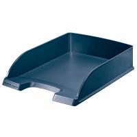 Briefkorb Leitz 5217, stapelbar, Maße: 375 x 255 x 70mm, dunkelblau
