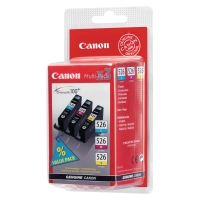 CANON CLI-526 INKJET CARTRIDGE MULTIPACK CYAN / MAGENTA / YELLOW