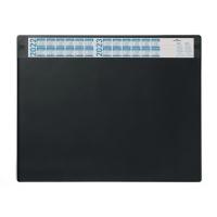 Schreibunterlage Durable 7205, 65 x 52cm, mit Vollsichtfolie, schwarz