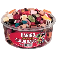 Fruchtgummi Haribo Color-Rado, Mischbox mit 1000g