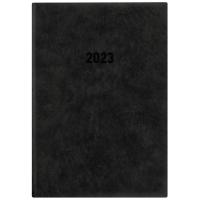 Buchkalender 2018 Zettler 836, 1 Tag / 1 Seite, A5, anthrazit