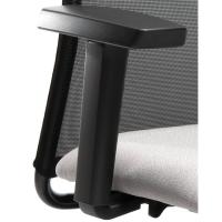 Armlehnenset Prosedia N954, für Bürostuhl N157, verstellbar, schwarz