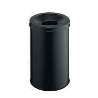 Papierkorb Durable 3306, Fassungsvermögen: 30 Liter, schwarz