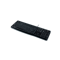 Tastatur Logitech K120 2227320, USB-Anschluss/kabelgebunden, schwarz