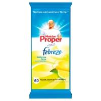 Reinigungstücher Meister Proper 292307, Zitronenduft, 60 Stück