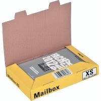 Versandbox Dinkhauser CP098.81, Innenmaße: 244 x 145 x 38mm, XS, gelb
