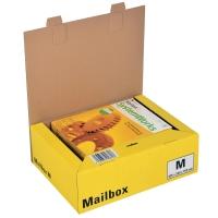 Versandbox Dinkhauser CP098.83, Innenmaße: 331 x 241 x 104mm, M, gelb