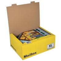 Versandbox Dinkhauser CP098.85, Innenmaße: 460 x 333 x 174mm, XL, gelb