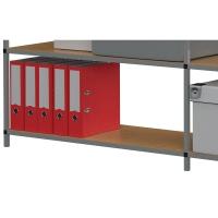 Lagerregalböden Paperflow 5125, Maße:100 x 30 x 200cm, 5 Stück