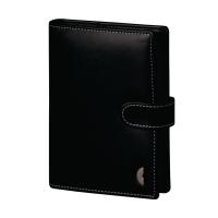 Ringbuch 2017 Chronoplan 50117 Standard Mini Einsteiger, Kunstleder, schwarz