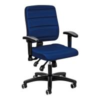 Bürostuhl Prosedia Yourope 4402, mittelhohe Rückenlehne, blau