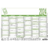 Tafelkalender 2018 Zettler 904UWS, 6 Monate / 1 Seite, A5
