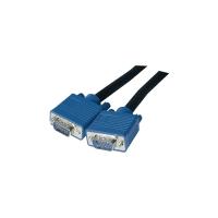 SVGA-Kabel 3M 3C9W, Plug & Play, Länge: 3m, schwarz/blau