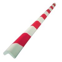 Kantenschutz Viso PU3030RB, 750mm, 30 x 30 x 8mm, eckig, rot/weiß