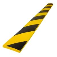 Flächenschutz Viso PU5020NJ, 750 x 60 x 10mm, schwarz/gelb