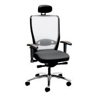 Bürostuhl Prosedia Younico Pro 3486, hohe Rückenlehne, grau