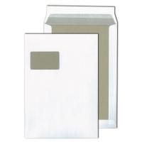 Versandtaschen Blessof 21750, mit Papprückwand, C4, mF, HK, 120g, weiß, 100St