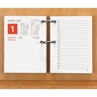 Gestell Zettler 331, für Umlegekalender Zettler 336, aus Holz, braun