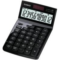 Tischrechner Casio JW-200TW, 12stellig, Solar-/Batteriebetrieb, schwarz