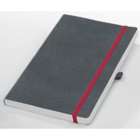 Notizbuch Avery Zweckform 7019 notizio, softcover, A5, kariert, grau, 80 Blatt