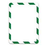 Infotasche Tarifold 194975, Magneto, A4, selbstklebend, grün/weiß, 2 Stück