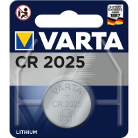 Batterie Varta 6025, Knopfzelle, CR2025, 3 Volt, Lithium