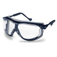 Schutzbrille uvex 9175.275 skyguard NT, Polycarbonat, klar, gr/bl
