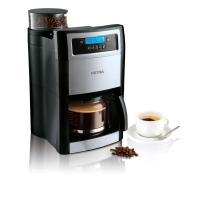 Kaffeemaschine Petra KM90.07, Grind+Brew, 10 Tassen, schwarz