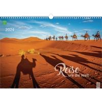 Bildkalender 2018 Brunnen 515140334, Reise um die Welt, 440 x 310mm