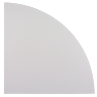 Verkettungsplatte LE91-5, Eckwinkel, Größe: 80 x 80cm, grau